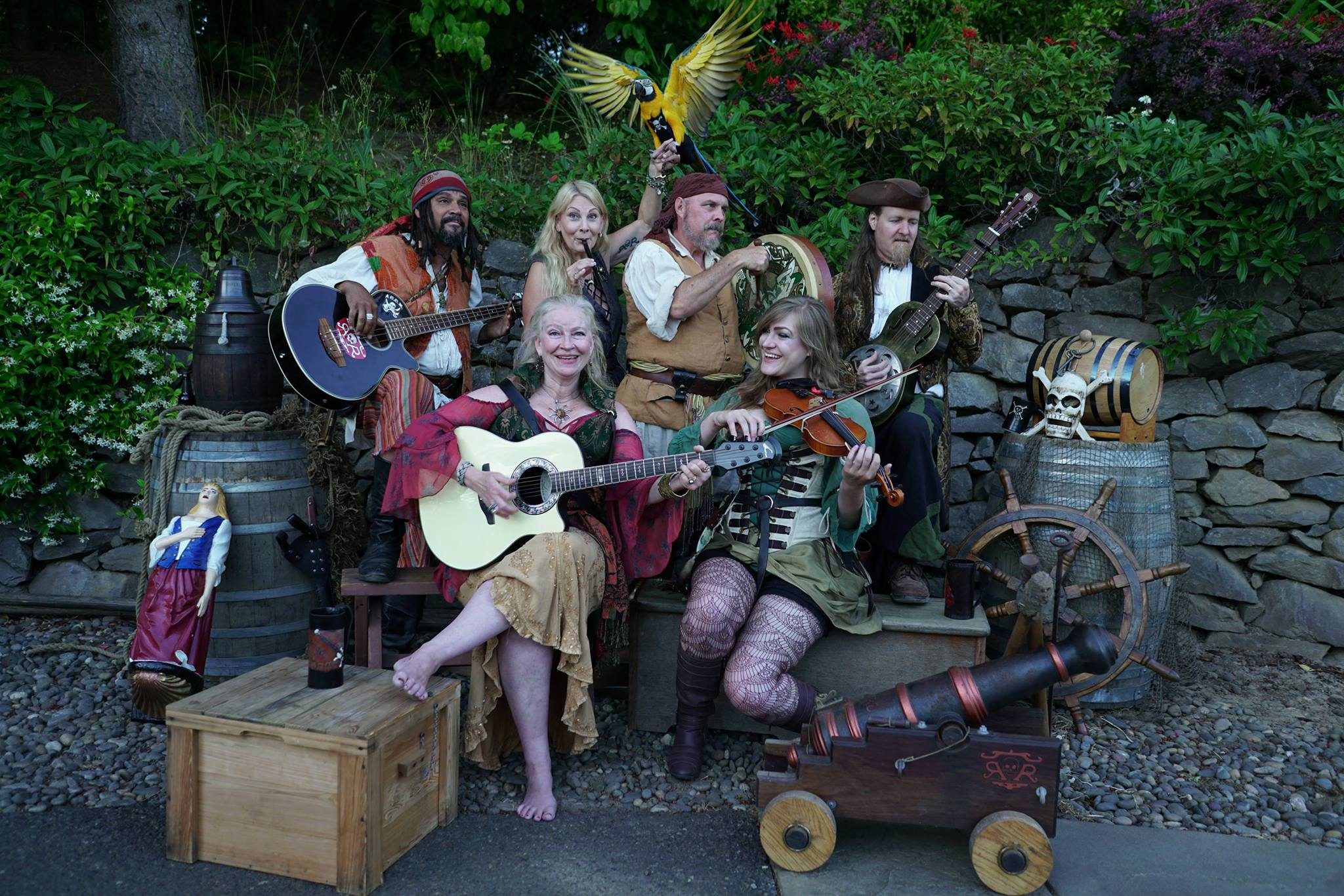 Bilgerats & Pyrettes (Pirate Band)