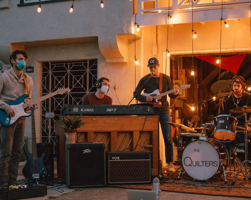 The Quilters, The Mr. Beautiful Band