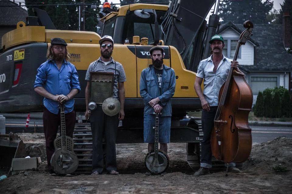 Blue Flags & Black Grass, Dumpster Joe & the Jazz Villains